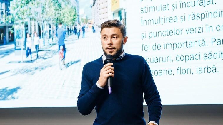 Cu infrastructură pentru biciclete și transport public confortabil. Victor Chironda va fi viceprimar pentru sectorul Urbanism și Mobilitate Urbană