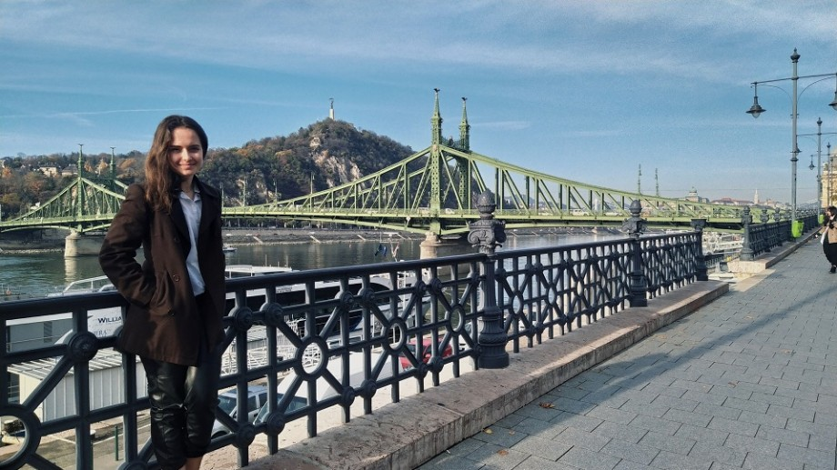 Universitatea #diez. Cum a câștigat Liuba Țobenco o bursă de studii și cum arată viața unui student la Budapesta