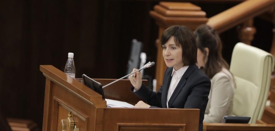 """Prima reacție a Maiei Sandu după căderea guvernului: """"Astăzi a fost trădat nu doar guvernul, dar și fiecare cetățean"""""""