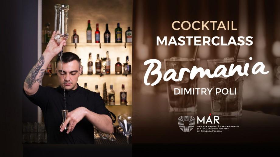 """""""BARMANIA"""" – primul cocktail master class dedicat barmanilor din țară"""
