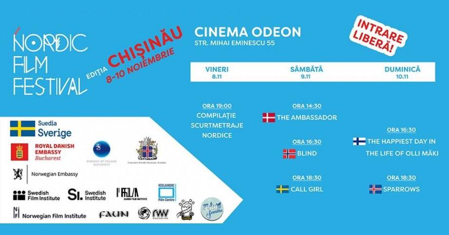 Nordic Film Festival revine la Chișinău. Ce filme vor fi incluse în program