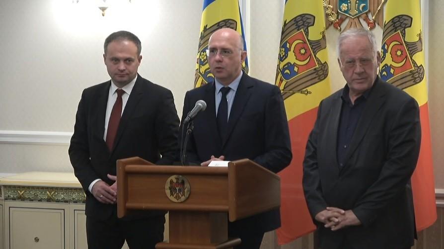 """(video) Declarațiile PDM după întâlnirea cu Dodon: """"Nu suntem gata să facem o coaliție, avem condițiile noastre"""""""