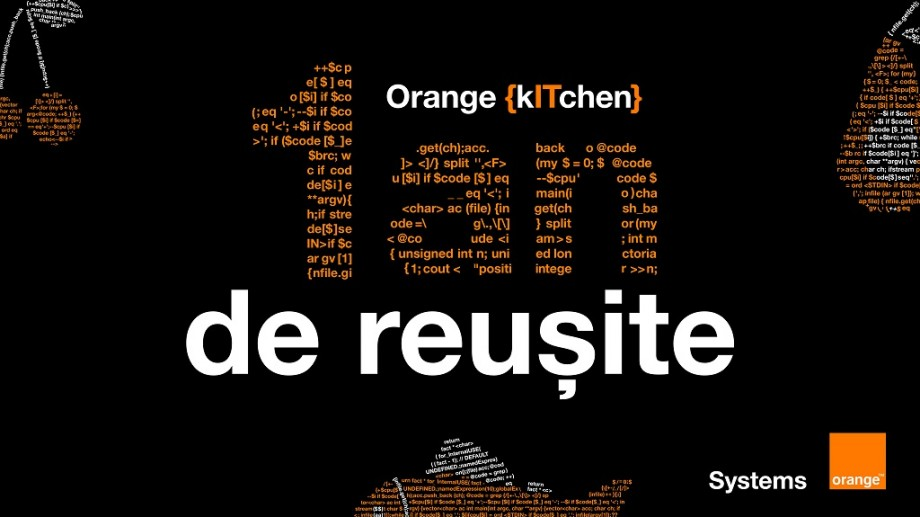 (video) Orange {kITchen} – un an de reuşite