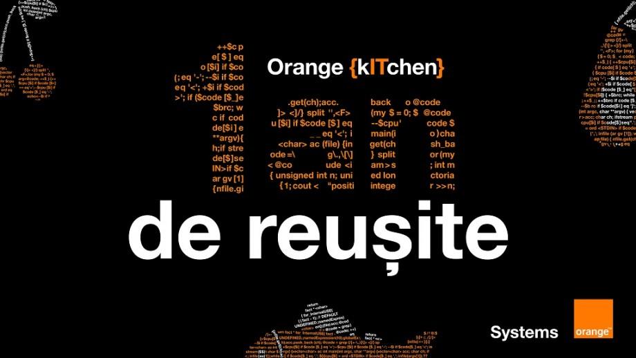 (video) Orange {kITchen} – un an de reușite