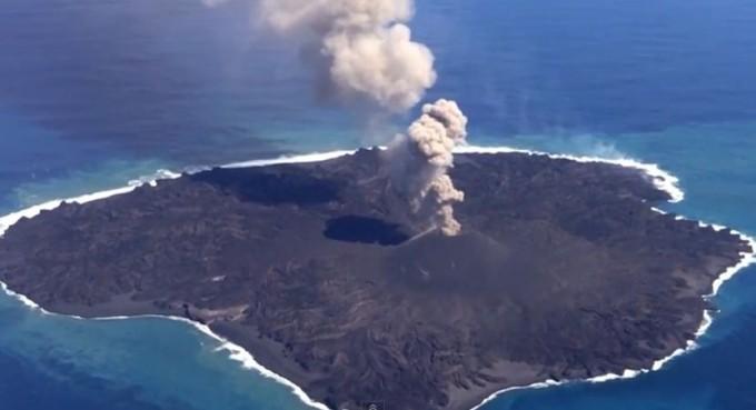O erupție vulcanică a dus la crearea unei noi insule. Unde se află aceasta