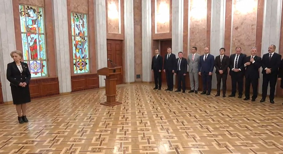 (live) Membrii noului Guvern depun jurământul