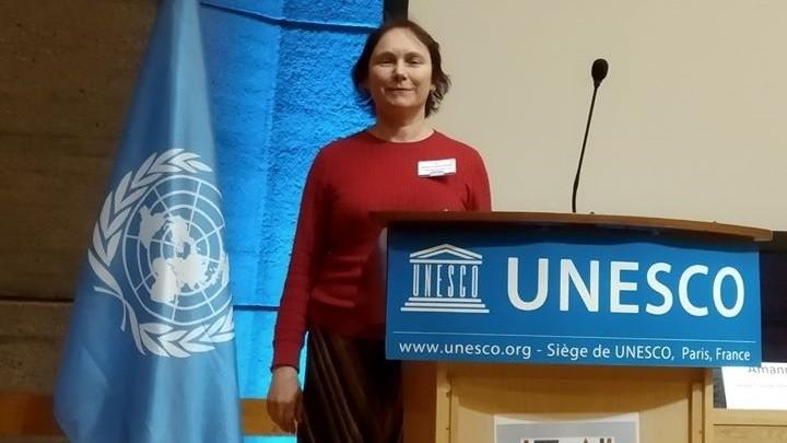 O conferențiară universitară de la UTM a prezentat rezultatele cercetării sale la UNESCO