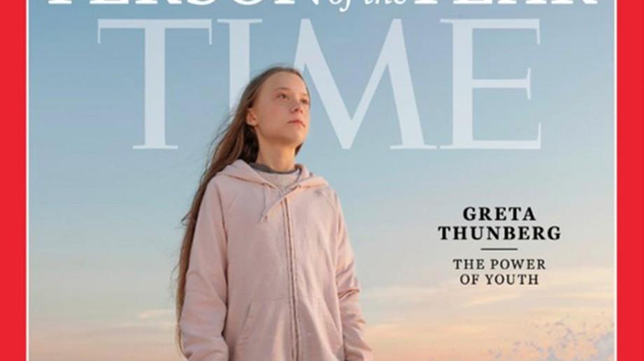 """Revista Time a desemnat-o pe tânăra activistă Greta Thunberg """"Persoana Anului 2019"""""""