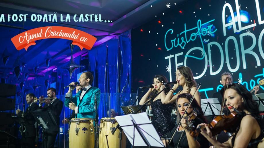 Vin fiert nelimitat, show de lumini și Orchestra lui Cristofor Aldea-Teodorovici. Întâmpină Ajunul Crăciunului la Castel Mimi