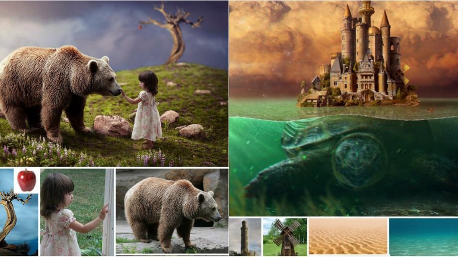 (foto) Secretele Photoshop-ului. Cum din mai multe imagini compilate poți crea o fotografie impresionantă