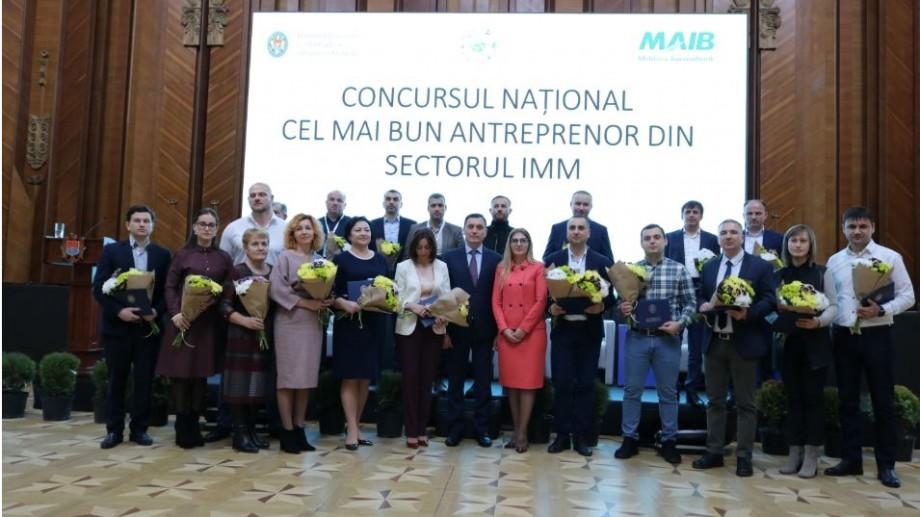 """Au fost desemnați câștigătorii concursului național """"Cel mai bun antreprenor din Moldova"""". Cine sunt aceștia"""