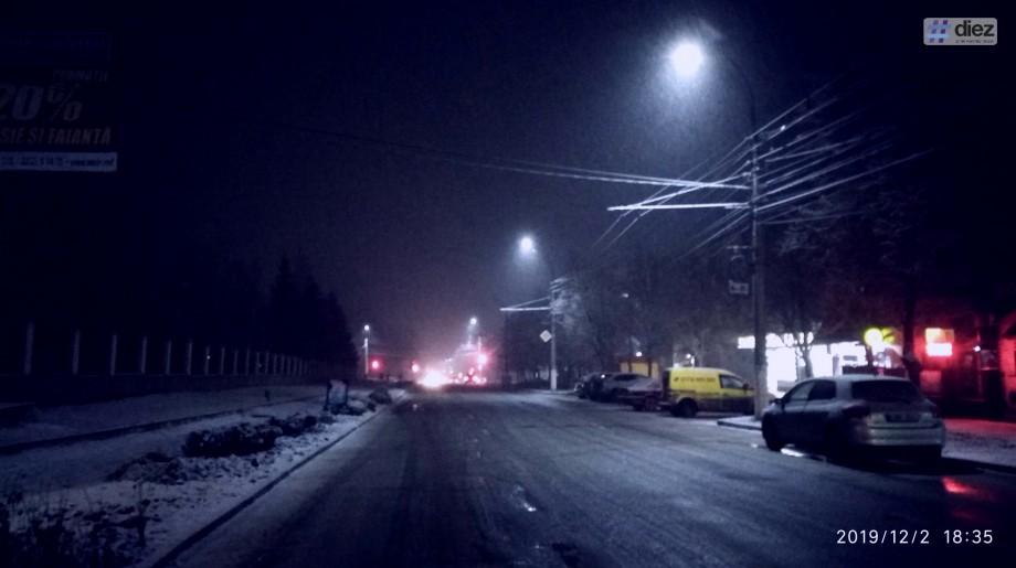 (foto) Winter is coming. La Bălți au căzut primii fulgi de nea