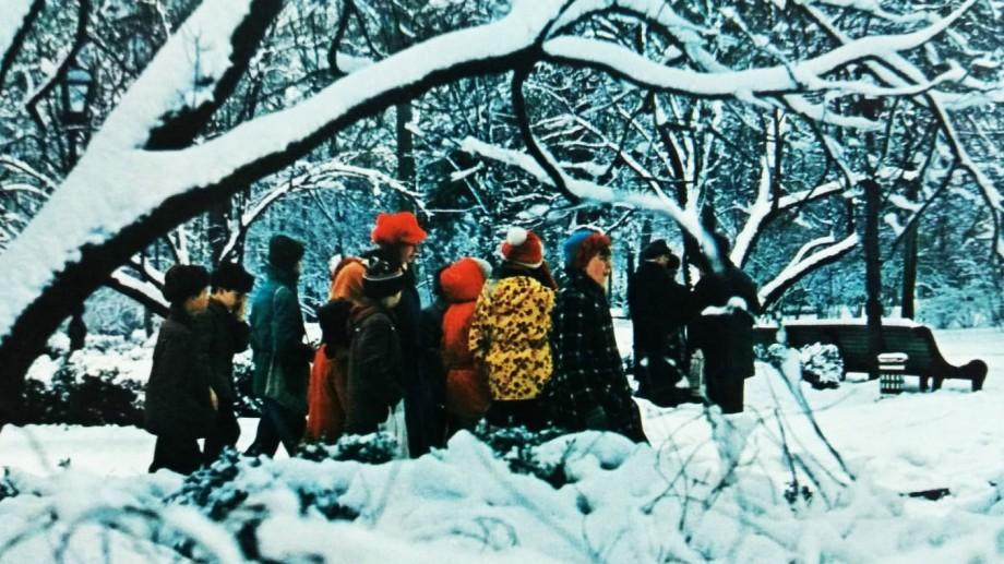 (foto) Nici atunci nu era multă zăpadă. Șapte fotografii în care apare Chișinăul pe timp de iarnă, în anul 1984