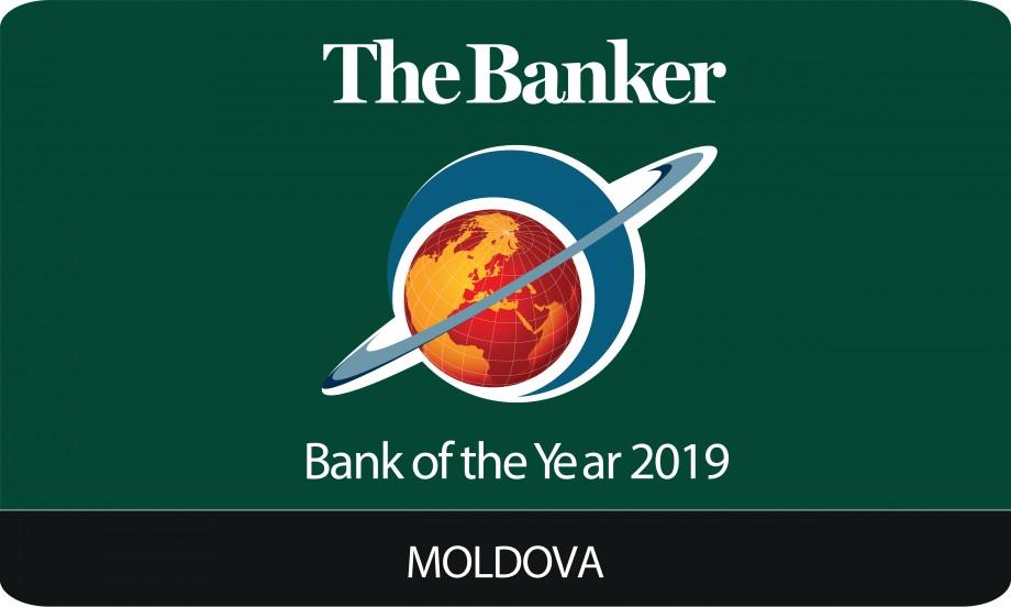 The Banker a desemnat Banca Anului 2019 din Republica Moldova