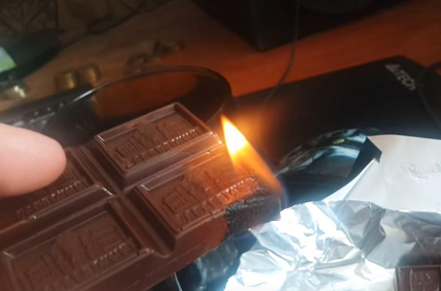De ce ciocolata arde, dar nu se topește. ANSA a venit cu un răspuns