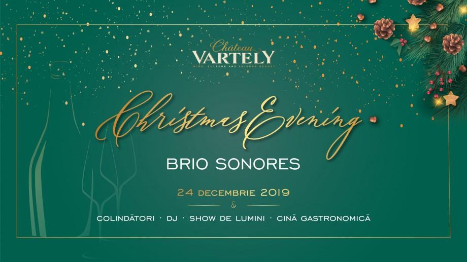Brio Sonores, colinde de Crăciun, show de lumini și DJ. Petrece seara de Ajun la Château Vartely