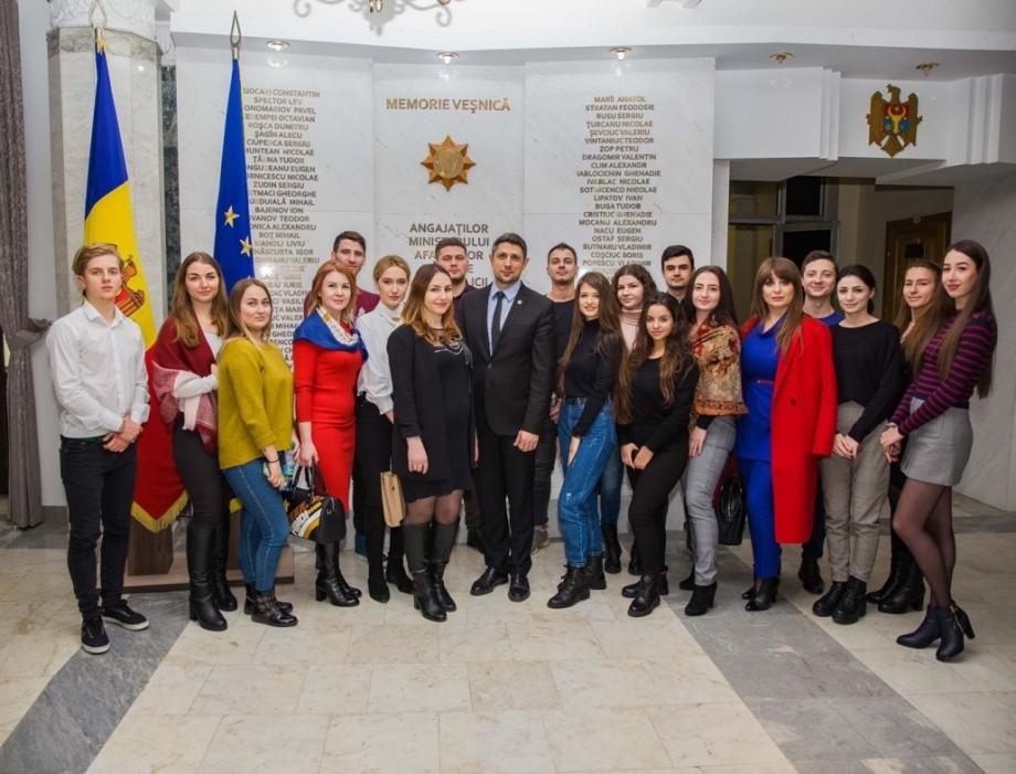 Viitorii specialiști în Drept de la UTM au efectuat o vizită la Ministerul Afacerilor Interne