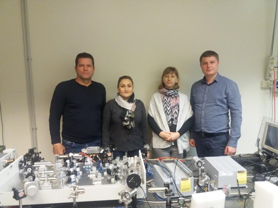 Profesorii de la UTM au vizitat Elettra-Sincrotrone Trieste, unul dintre cele mai importante centre științifice din Europa
