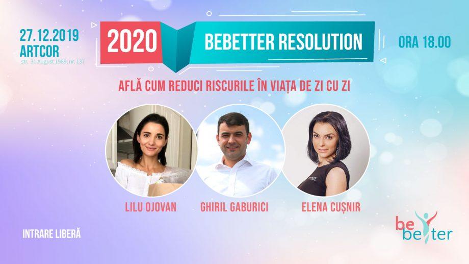 Învață să fii responsabil! Cum poți particip gratuit la seminarul BEBETTER 2020 RESOLUTIONS