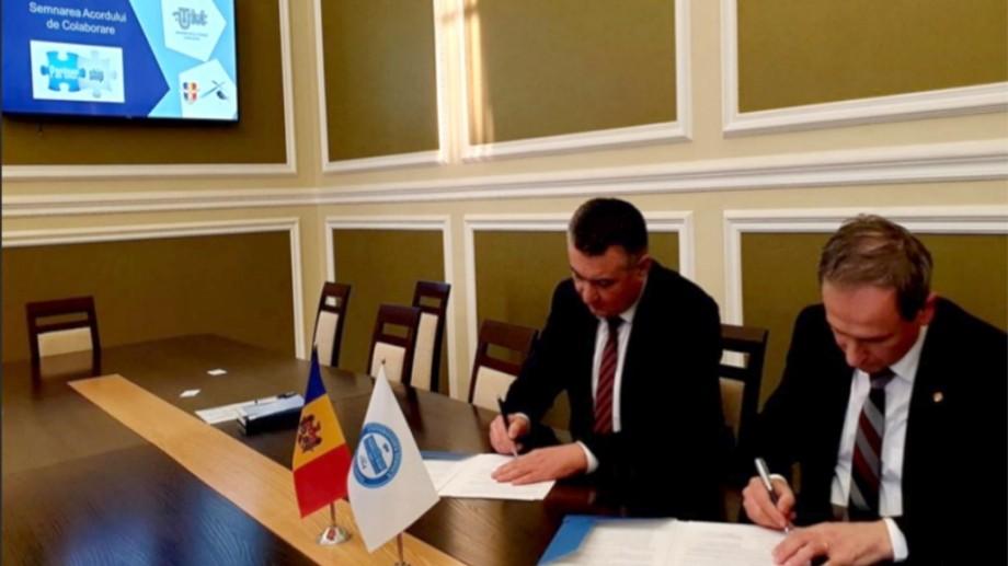 """UTM are un nou partener în domeniul servicii aeriene – """"Moldaeroservice"""". Ce prevede acordul semnat de instituții"""