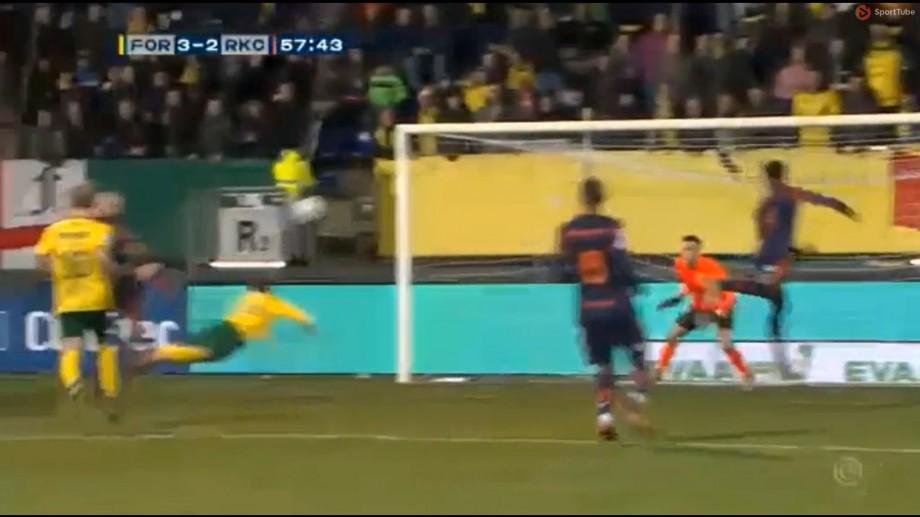 (video) Gol în stilul lui Robin van Persie. Vitalie Damașcan a marcat o nouă dublă pentru Fortuna Sittard