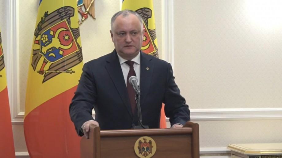 """(video) Igor Dodon va convoca Consiliul Suprem de Securitate. """"Aeroportul trebuie să revină în gestiunea statului"""""""