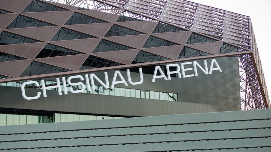 (foto) Lucrările de construcție sunt gata în proporție de 98 %. Cum arată Arena Chișinău din interior