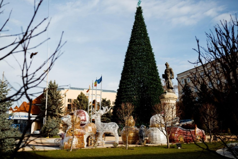 La Orhei, pe 7 decembrie, va fi inaugurat cel mai înalt Pom de Crăciun din țară, iar la 21 decembrie – Târgul de Crăciun