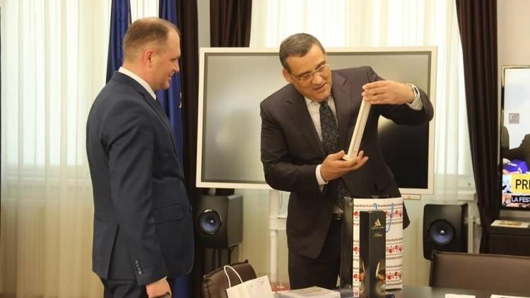 Ceban a mulțumit României pentru ajutorul primit în implementarea proiectelor din Chișinău