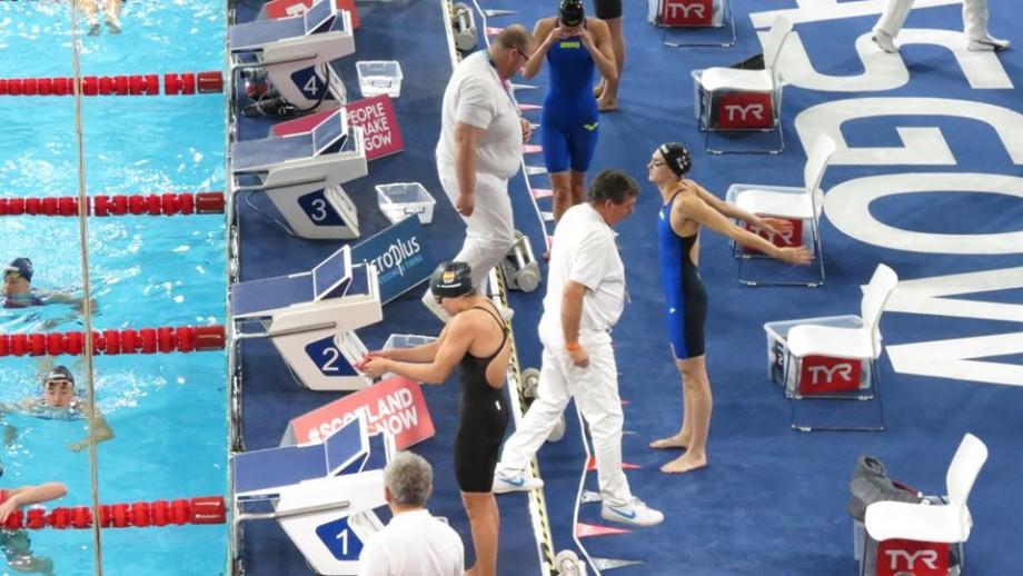 Sportiva Tatiana Chișca a stabilit un nou record pentru Moldova la înot