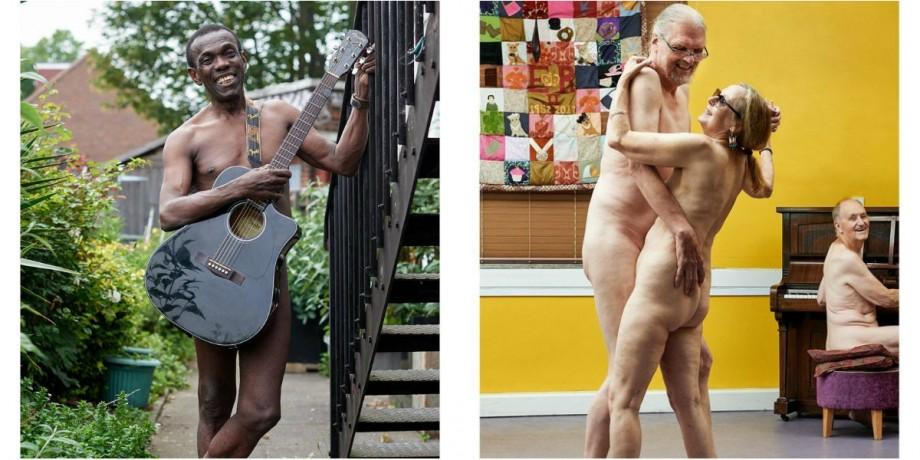 (foto) Jos prejudecățile. Tinerii în etate s-au fotografiat nud pentru calendarul 2020 în scopuri caritabile