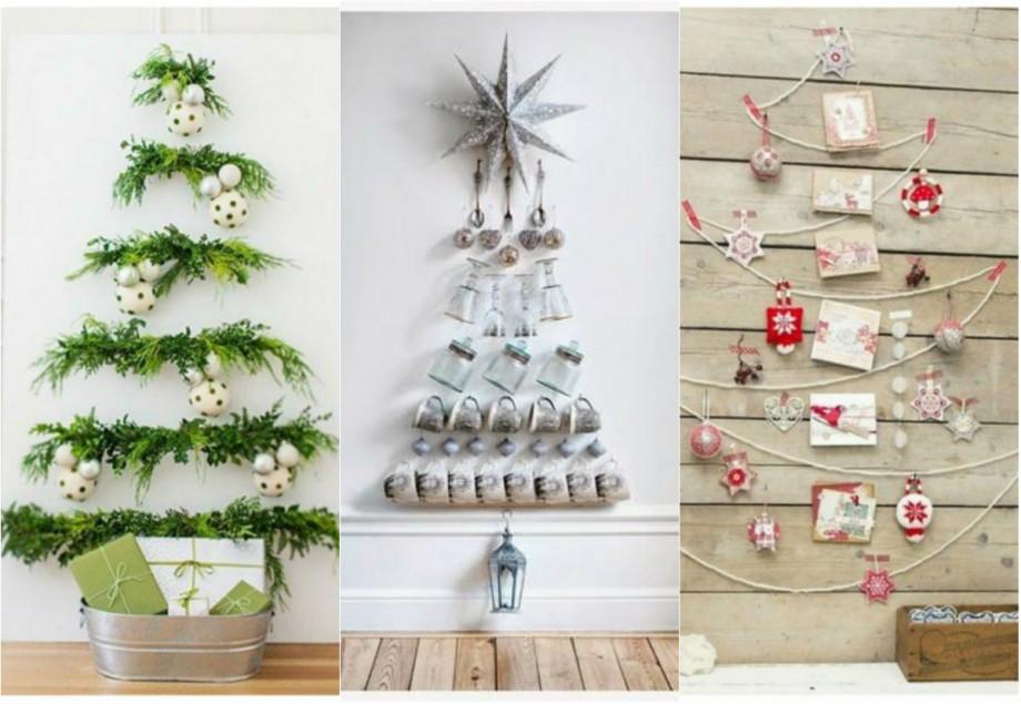 (foto) Din paste, ață sau carton. 20 de idei creative pentru pomul de Crăciun pe care le poți confecționa acasă
