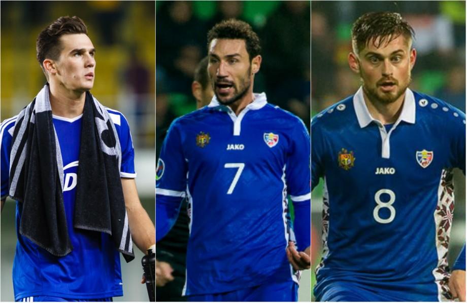(foto) Top 10 cei mai scumpi fotbaliști moldoveni pe piața internațională, conform Transfermarkt