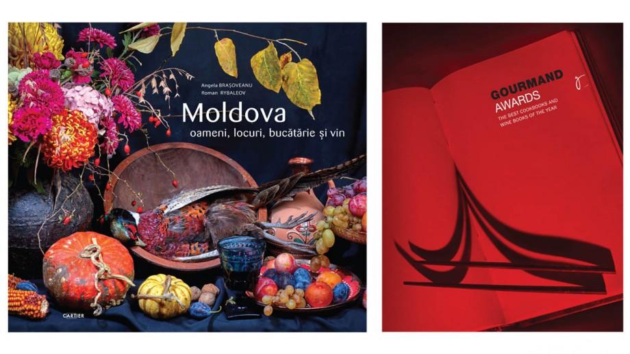 """""""Moldova: oameni, locuri, bucătărie și vin"""" concurează pentru titlul de cea mai bună carte de gastronomie și vin din lume"""
