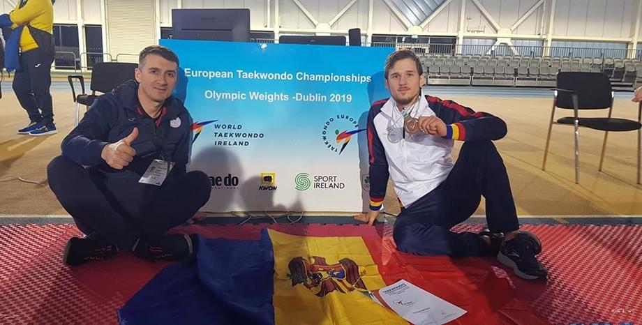 Sportivul moldovean Stepan Dimitrov a cucerit medalia de bronz la European Championships categoriile olimpice