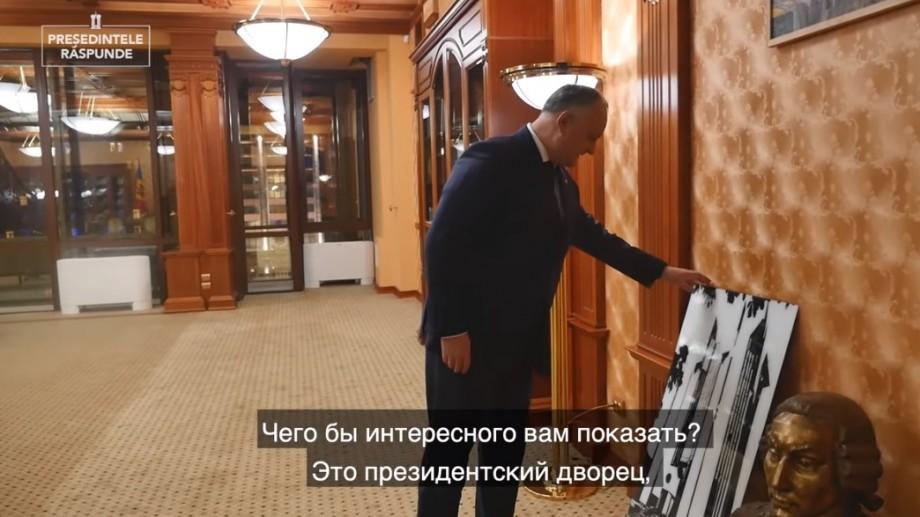 (video) Vloggerul și președintele țării, Igor Dodon, revine cu un nou episod pe YouTube