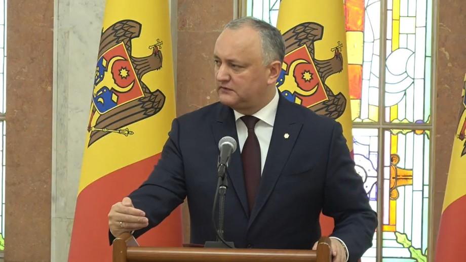 """Igor Dodon, după ședința Consiliului Suprem de Securitate: """"Vlad Plahotniuc nu a fost anunțat în căutare internațională de către Interpol"""""""