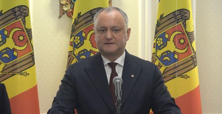 """Igor Dodon: """"Persoanele care nu vor coopera cu autoritățile pentru a opri răspândirea coronavirusului ar putea fi amendate sau vor răspunde penal"""""""