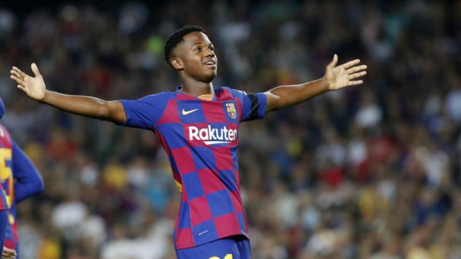 (video) Ansu Fati a devenit cel mai tânăr marcator din istoria UEFA Champions League. Câți ani are acesta