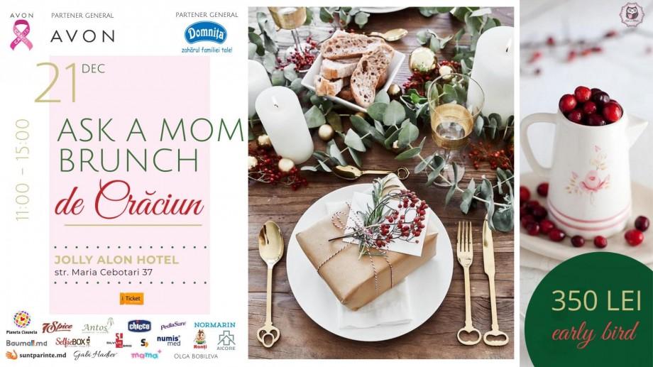 Pentru toată familia – mămici, tătici și copilași. Ask a Mom Christmas Family Brunch revine la Jolly Alon