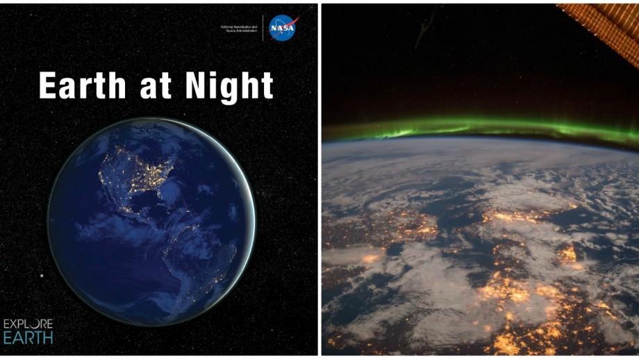 (doc) Povestea planetei Pământ pe timp de noapte. NASA a lansat o carte electronică cu imagini spectaculoase