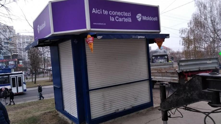 (foto) 45 de gherete de pe străzile capitalei au fost evacuate de la începutul săptămânii