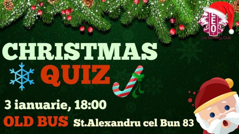 Participă la Christmas Quiz și ajută persoanele de la Azilului Republican de Invalizi și Pensionari