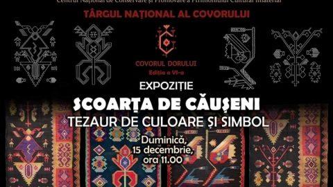 """O nouă ediție a târgului Național al Covorului """"Covorul Dorului"""" va fi organizată la Chișinău. Când va avea loc evenimentul"""