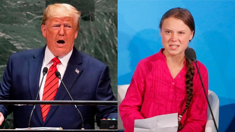 """""""Calm Greta, calm"""". Donald Trump """"supărat"""" pe Greta Thunberg după ce revista Times i-a acordat titlul de """"Persoana Anului"""""""