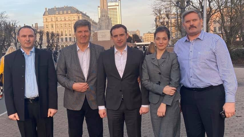"""(foto) În capitala Letoniei va fi amenajat un scuar cu numele """"Chișinău"""""""