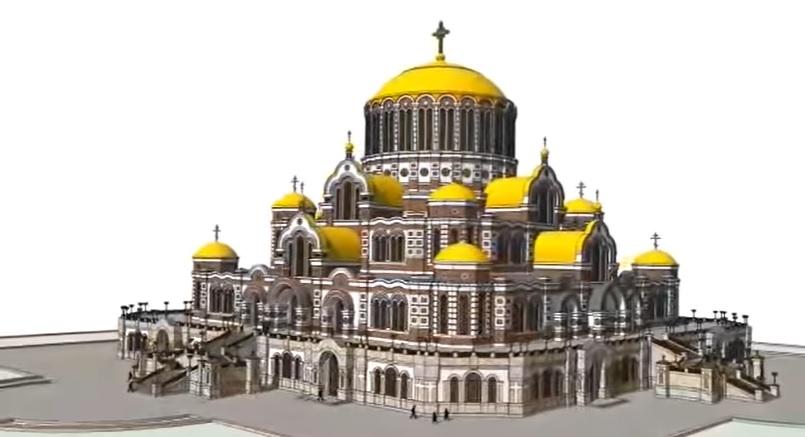 (video) Rusia vrea să construiască cea mai mare biserică ortodoxă din lume. Aceasta ar urma să aibă 25 de etaje
