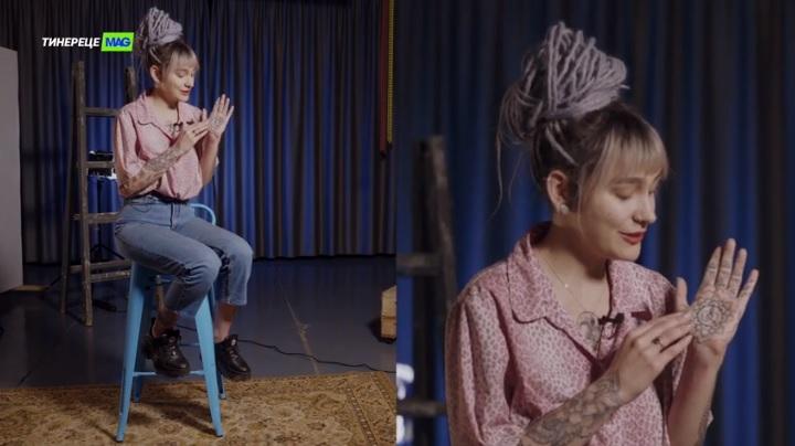 (video)Micul Prinț, LP, astronauți, flori și propriul bunic. Povestea celor 25+ tatuaje ale Lerei Trofimov