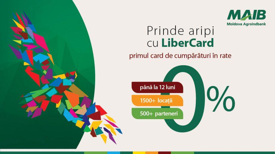(video) LiberCard – cardul tău de cumpărături în peste 1 500 de magazine