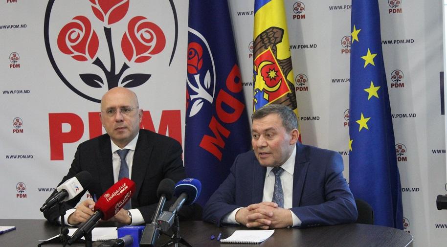 """PDM și-a desemnat candidatul pentru alegerile parlamentare noi din Hâncești: """"Candidatul nostru este hânceștean"""""""
